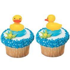 Splish Splash Ducky Cupcake Picks (12) $2.39