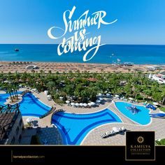 Summer is coming and Kamelya Collection hotels are shrouded in the most attractive colors of nature. #kamelya #kamelyacollection #summer #vacation #holiday #hotels