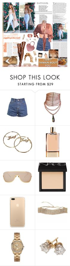 """050217"" by rocio-rivera ❤ liked on Polyvore featuring Balmain, Rocio, Juicy Couture, Oris, Chloé, Acne Studios, NARS Cosmetics and Caravelle by Bulova"