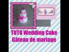 TUTO FIMO WEDDIND CAKE Gâteau de mariage
