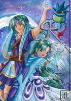 Piers and Mia from Golden Sun The Lost Age
