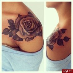lovely rose #tattoo