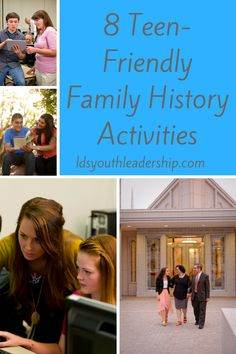I love these family history ideas for LDS youth! Any of them would make great Mutual activities!
