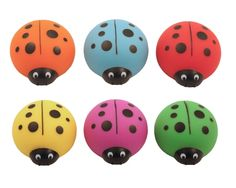Lucky Ladybug Sharpeners - Set Of 3 $10.19  Lucky Ladybug sharpens pencils and slips into your pencil case so you can find her easily.