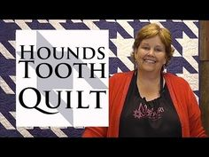The Houndstooth Quilt- Quilting Made Easy! - YouTube