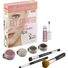 bareMinerals Get Started - Eyes, Cheeks, Lips - Fair/Light: Amazon.co.uk: Beauty