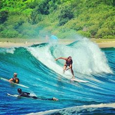 surfs up....want to go watch in Hawaii!