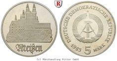 RITTER DDR, 5 Mark 1983, Meißen, J. 1543, PP #coins #numismatics