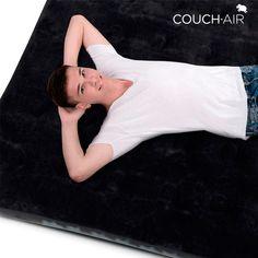 Se hai bisogno di un materassino di ricambioa casa o dovunque tu voglia, ti presentiamo la migliore soluzione: il meraviglioso materassinoCouch Air! Questo