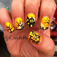 Halloween by b_ricketts  #nail #nails #nailart