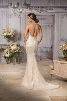 Jasmine Couture style T182014 (back view)