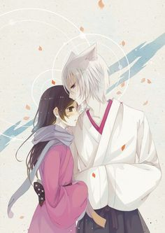 Image uploaded by ~MiMi~. Find images and videos about love, god and kamisama hajimemashita on We Heart It - the app to get lost in what you love. Kamisama Kiss, Tomoe And Nanami, Fox Spirit, Fanart, Whiskers On Kittens, Kawaii, Harry Potter Fan Art, Cute Anime Couples, Shoujo