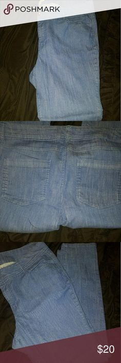 Forever 21 blue skinny jeans These jeans are like new and in excellent condition. They are skinny legged. The flash makes them lighter then they are in person. Forever 21 Jeans Skinny