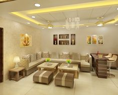 These small budget big makeover redecoration ideas can completely transform your home! Drawing Room Ceiling Design, Interior Ceiling Design, House Ceiling Design, Ceiling Design Living Room, Bedroom False Ceiling Design, Home Room Design, Living Room Interior, Drawing Room Decoration, False Ceiling For Hall