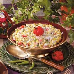 Spicy Creamed Corn Recipe