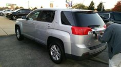 OMG! My hubby DID THAT! He surprised me with a new fully loaded Flex Fuel Terrain SUV with Backup Camera, Satellite Radio, Memory Seats, Navigation, Onstar and the list goes on and on. It's big enough for me, my grandbabies and my new dog Buddy! My car was going down hill and was no longer reliable AT ALL! Fist Todd gives me the BEST DOG in the world. Now my hubby gives me this beautiful truck I'd thought I'd never own. Feeling really safe, protected and soooo blessed right now. God is…