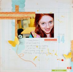 Layout by Trina with the May 2013 kits from Citrus Twist