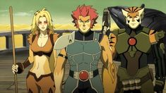 thundercats 2011 cheetara - Google Search