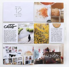 Another wonderfully regular week around here. In terms of embellishments on this Project Life® spread I decided to shop my. Project Life Scrapbook, Project Life Album, Project Life Layouts, Pocket Scrapbooking, Scrapbooking Layouts, Book Layouts, Book Design Layout, Album Design, Web Design
