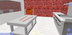 Here is the Kitchen at the Candy Shop in 3D Browsing - WalkTheWeb.com