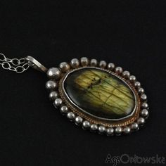 #pendant - #silver & #labradorite
