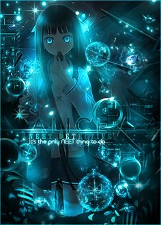 ALICE - Kamisama no Memochou by SeventhTale on DeviantArt Fnaf Anime, Art Anime, Anime Neko, Kawaii Anime Girl, Anime Art Girl, Manga Girl, Anime Guys, Anime Fantasy, Fantasy Art