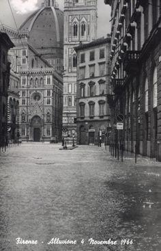 Firenze - Alluvione 4 Novembre 1966