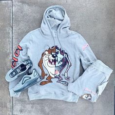 men's outfits – High Fashion For Men Dope Outfits For Guys, Swag Outfits Men, Tomboy Outfits, Trendy Outfits, Cute Outfits, Nba Fashion, Mens Fashion, Mens Sweat Suits, Hype Clothing