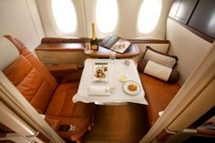 Inside the first class cabins of the world's best airlines Singapore Airlines…