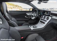 Mercedes-Benz C43 AMG Coupe 2019 poster, #poster, #mousepad, #tshirt, #printcarposter