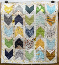 a quilt is nice: baby pow wow