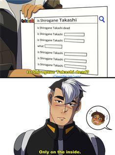 same shiro same      ~~      voltron legendary defender | vld | shirogane 'shiro' takashi | lance mcclain