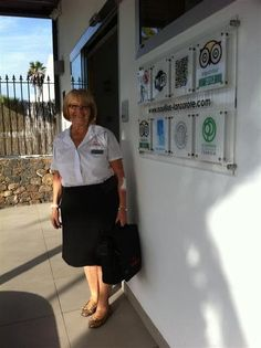 Irene the nicest guide of Vitaltour in Nautilus Lanzarote
