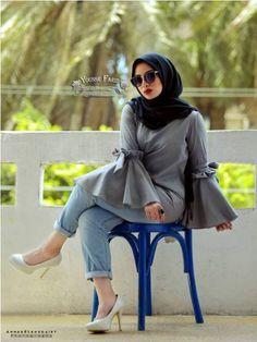 Cute casual hijab fashion – Just Trendy Girls