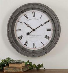 Uttermost Porthole Wall Clock