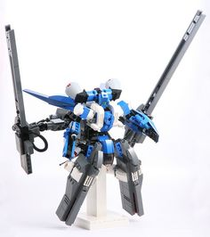 Railguns and leg boosters by jehkay, via Flickr