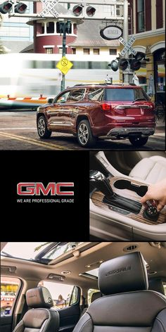 The all-new 2018 Acadia personifies our Professional Grade attitude and dedication to premium. Step in and experience an SUV that delivers refinement in every interior detail, advanced vehicle technologies, and versatile seating and cargo configurations. Then select the model that fits your lifestyle.