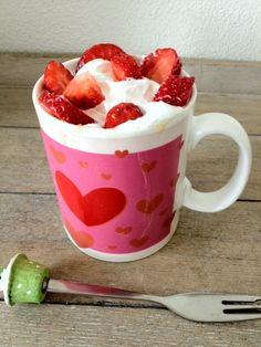 Aardbeiencake in 5 minuten - Lekker en Simpel