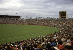 VFL Park a year after it was opened. Replaced a mere 35 years later by housing development, like most things in Australia.