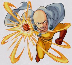 One Punch Man Monster Strike by Saitama One Punch Man, One Punch Man Anime, Anime One, Monster Strike, Character Art, Character Design, Arte Nerd, Superhero Design, Fanarts Anime