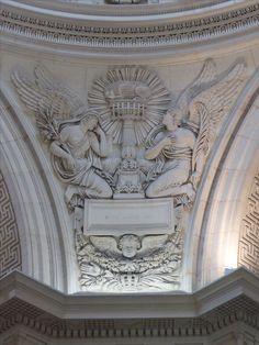 #Chapelle expiatoire, #Paris, #8eme. #Pendentif de la #coupole