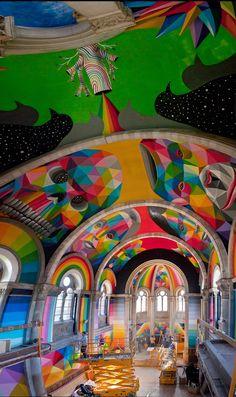 Okuda San Miguel skate iglesia church Llanera Asturias 5
