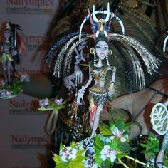 Nailympics Spain 2015 I Alla Kiinder I NSI Ukraine I Fantasy Nail Art I 1st place