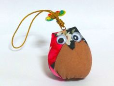 New Handmade Cotton Owl Doll Key Chain #Handmade