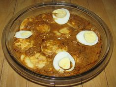 Egg Bharta - Egg curry.