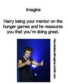 This might be the only scenario when I wouldn't be happy to see Harry Styles.
