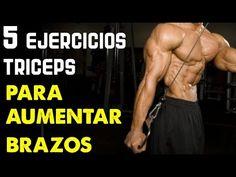 Como Aumentar Masa Muscular En Los Brazos - 5 Ejercicios Para Tríceps - YouTube