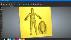 Carveco Maker importing multiple 3D STL files and modifying them for mac...