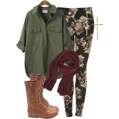 Untitled #151 by annellie on Polyvore featuring Charlotte Russe and VILA