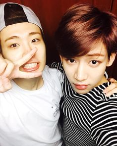 Bambam's IG with Youngjae